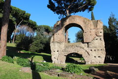 Ruines de Rome Photos stock
