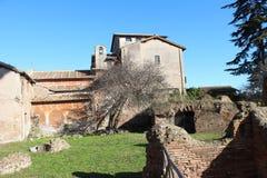 Ruines de Rome Image libre de droits