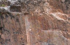 Ruines de Sacsayhuaman dans Cusco, Pérou Photos stock