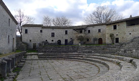 Ruines de Saepinum Altilia, Molise, Italie Photos libres de droits