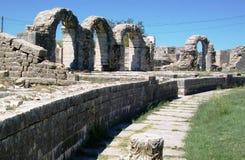 Ruines de Salona - ville antique romaine Photo libre de droits
