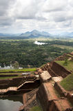 Ruines de Sigiriya Image libre de droits