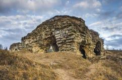 Ruines de Skala-podilska Image stock