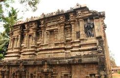 Ruines de sous-sol de tour de temple antique Photos libres de droits