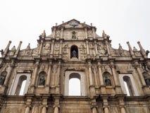 Ruines de St Paul et de x27 ; s Photographie stock libre de droits