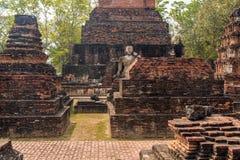Ruines de Sukhothai Photographie stock