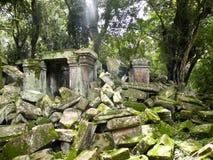 Ruines de temple Images stock