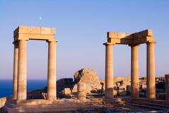 Ruines de temple antique Image libre de droits