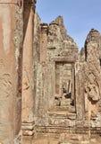 Ruines de temple chez Angkor Vat Image stock