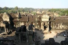 Ruines de temple d'Angkor Vat Photographie stock