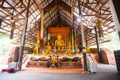 Ruines de temple dans la concession Ruak, Thaïlande du nord photographie stock libre de droits