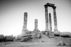 Ruines de temple de Hercule Images stock