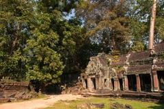 Ruines de temple de Prohm de ventres photo libre de droits