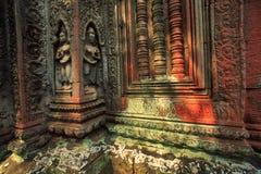 Ruines de temple de Prohm de ventres images stock