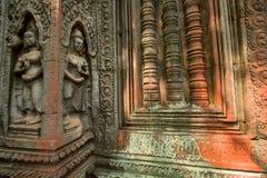 Ruines de temple de Prohm de ventres photographie stock libre de droits