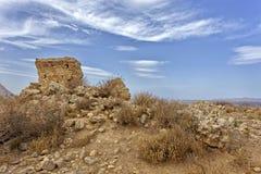 Ruines de temple du ` s de Demeter photos stock