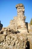 Ruines de temple indou, Avantipur, Kashmir, Inde Images libres de droits