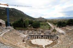 Ruines de théâtre Images libres de droits