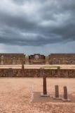Ruines de Tiwanaku, Bolivie Photos libres de droits