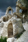 Ruines de tour de cloche Photo libre de droits