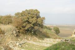 Ruines de Troie Photographie stock libre de droits