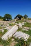 Ruines de troy antiques Photo libre de droits