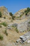 Ruines de Troy, Turquie Photos stock