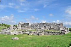 Ruines de Tulum Images libres de droits