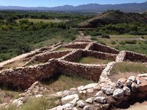Ruines de Tuzigoot Photo stock