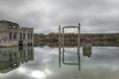 Ruines de Vasalemma Image stock