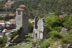 Ruines de vieille barre, Monténégro photos stock