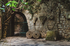 Ruines de vieille barre, Monténégro Photo libre de droits