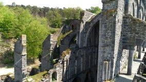 Ruines de vieille cathédrale clips vidéos