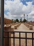 Ruines de vieille mosquée de Marrakech photos stock