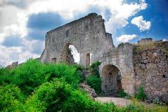 Ruines de vieux château Photographie stock libre de droits