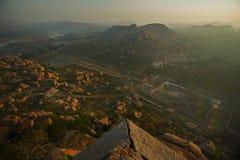 Ruines de Vijayanagara photographie stock