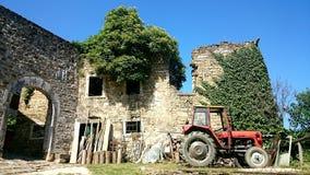 Ruines de ville Photographie stock