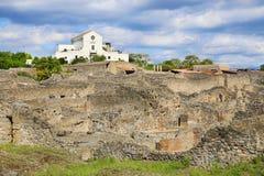Ruines de ville antique Pompeii photographie stock