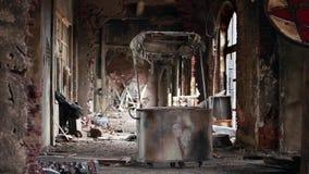 Ruines de ville fantôme banque de vidéos