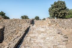 Ruines de ville de Troie dans Canakkale photographie stock