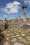 Ruines de Volubilis. Maroc Photo stock