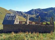Ruines de WWII dans le Marinetines français Photographie stock libre de droits