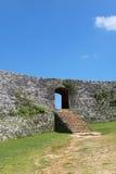 Ruines de Zakimi Photographie stock libre de droits