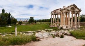 Ruines des afrodisias Tetrapylon Photographie stock libre de droits