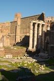 Ruines des marchés de Trajan, construites dans l'ANNONCE du 2ème siècle par Apollodorus de Damas à Rome antique l'Italie Photos libres de droits