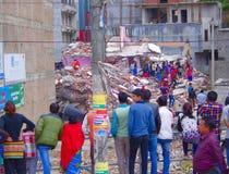 Ruines di Kathmandu Immagini Stock Libere da Diritti