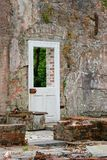 Ruines and door Royalty Free Stock Images