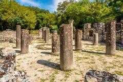 Ruines du baptistère Photos libres de droits
