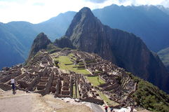Ruines du machu-picchu 10 Photos stock