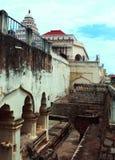 Ruines du palais de maratha de thanjavur Image stock